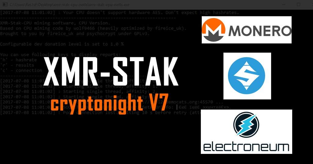 Скачать XMR-Stak 2.10.7 (AMD & Nvidia GPU Miner)