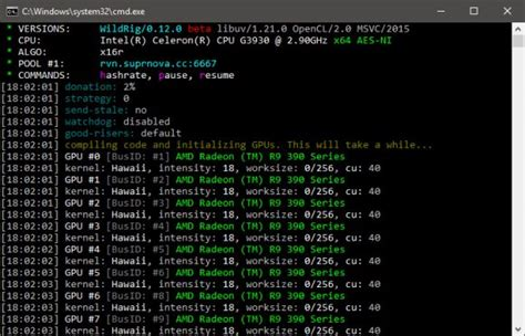 Скачать WildRig Multi 0.19.0 (AMD GPU miner)