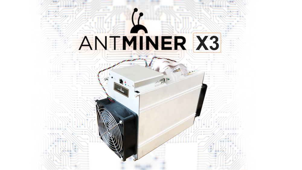 Overview of Bitmain Antminer X3 CryptoNight ASIC Miner