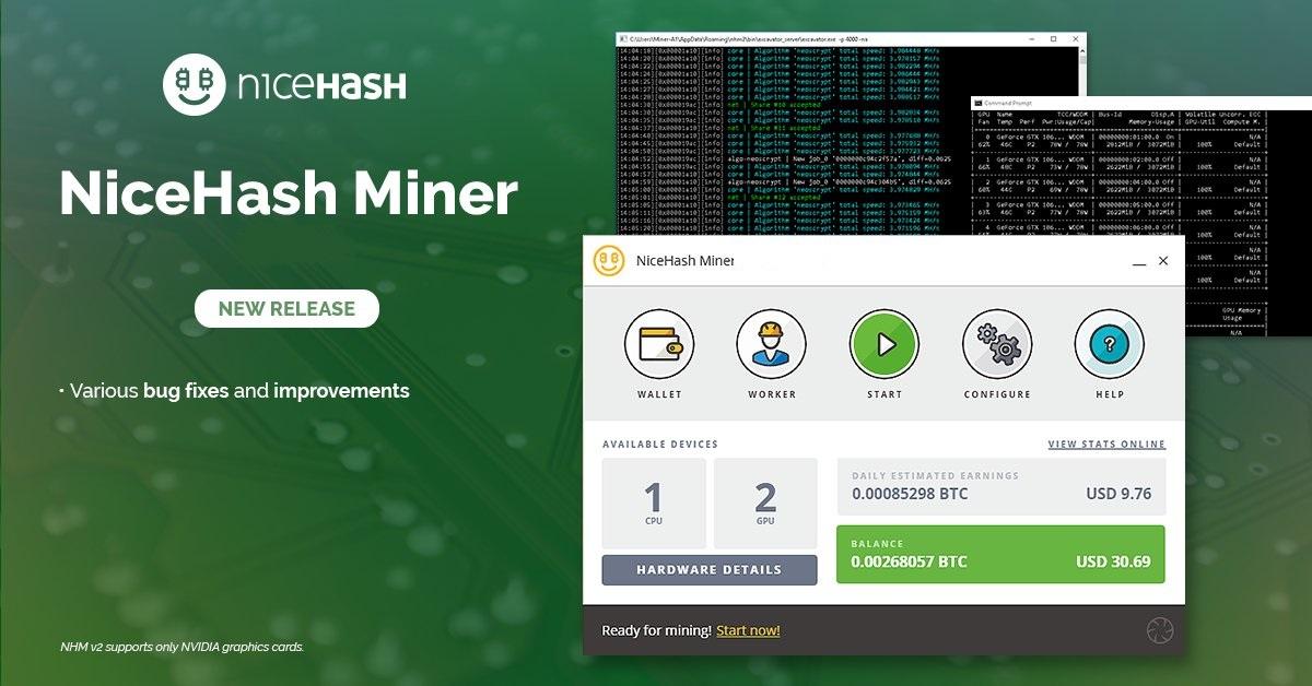Nicehash miner download