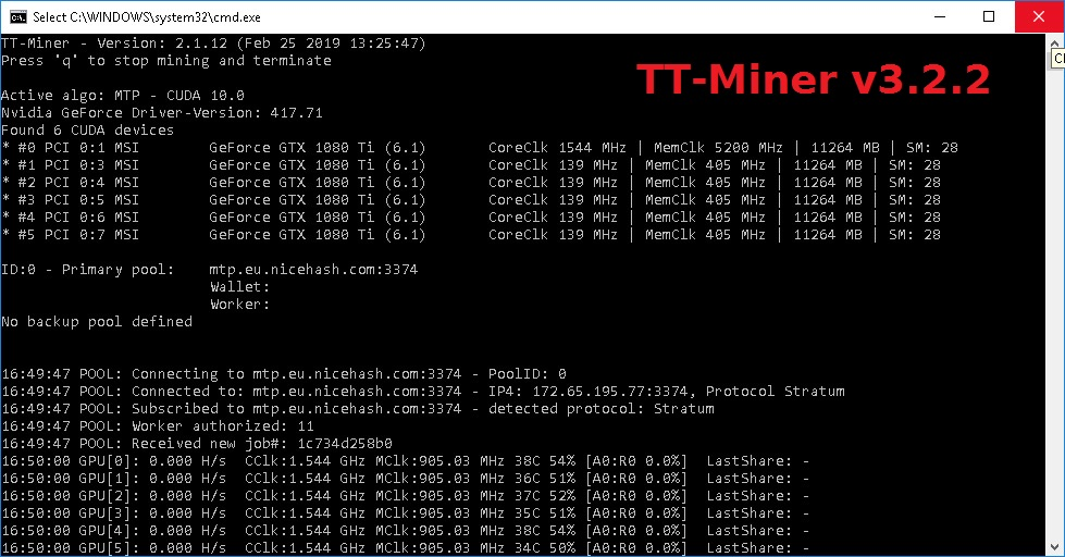 TT-Miner 3.2.2 NoFee (NoDevFee): Nvidia & AMD GPU miner
