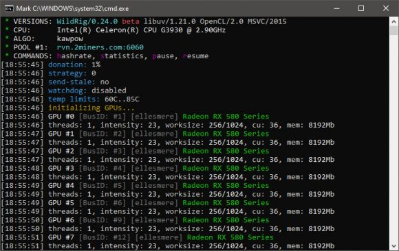 WildRig Multi v0.24.1 (AMD GPU miner): Download with KAWPOW support