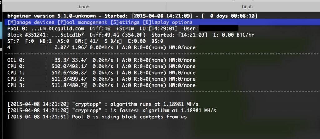 BFGMiner v5.5.0: mining CPU/GPU/FPGA/ASIC (Linux & Windows)